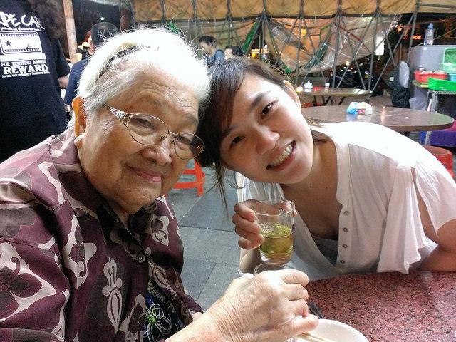 親愛的阿嬤,我會永遠想念妳。(本篇為阿嬤相片) @麻吉小兔吃貨旅行團
