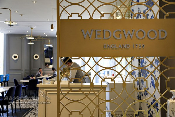 全亞洲第一間!台南【Wedgwood Tea Bar】英式下午茶 @麻吉小兔吃貨旅行團