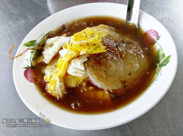 台南仁德【上崙早餐肉粿】在地人超級私房美食 @麻吉小兔吃貨旅行團