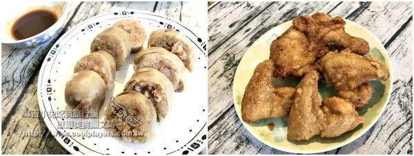 汐止黃昏市場美食【阿婆大腸圈、阿義炸雞】 @麻吉小兔吃貨旅行團