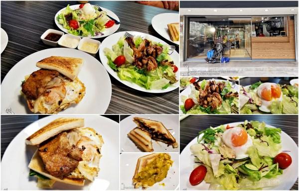 平價又奢侈~錦州街【兼六和風堂】健康優質和風早午餐~和風烤土司 爆漿熱壓吐司 和風沙拉~小六食堂技術指導