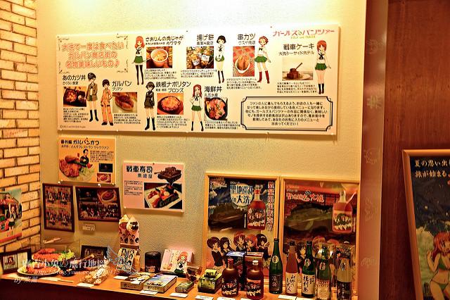 東京動漫之旅三【少女與戰車場景:大洗 x 舞台巡禮APP】 @麻吉小兔吃貨旅行團