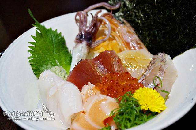 (已歇業)汐止美食【味留丼】高品質生魚片丼飯與日本料理 @麻吉小兔吃貨旅行團