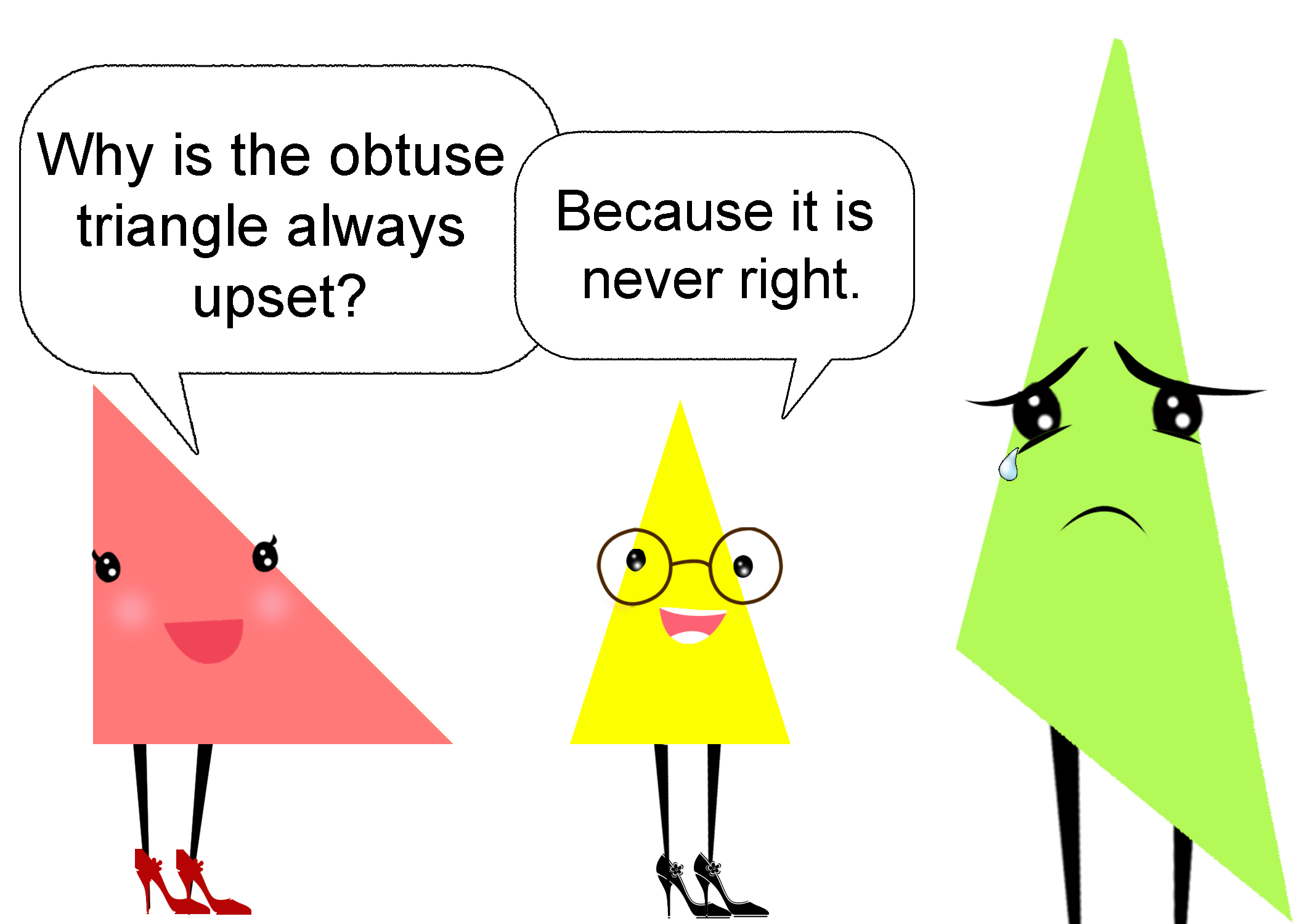 Triangle Puns