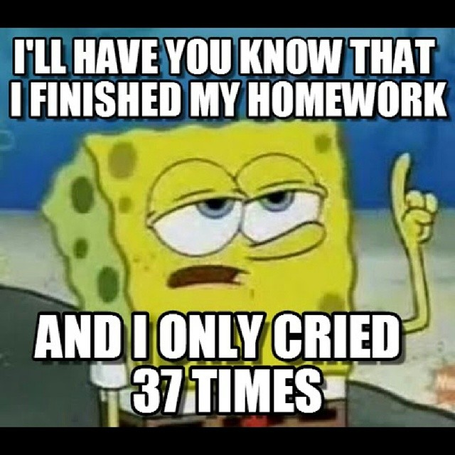 17 Homework Memes That Tell It Like It Is Weareteachers