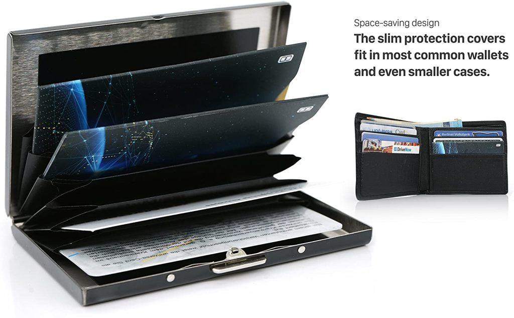 Porte Carte Protection Bloqueur RFID / NFC / sans Contact