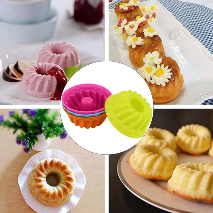 Moules à gâteaux en silicone Muffin pour Cupcake