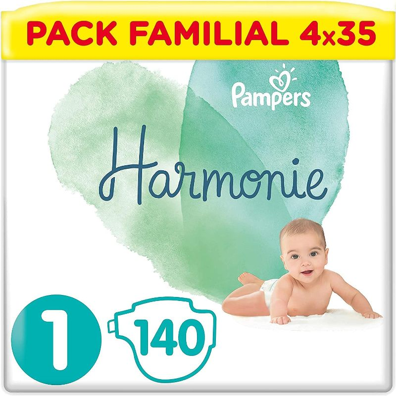 Pampers Couches Bébés Harmonie Taille 1