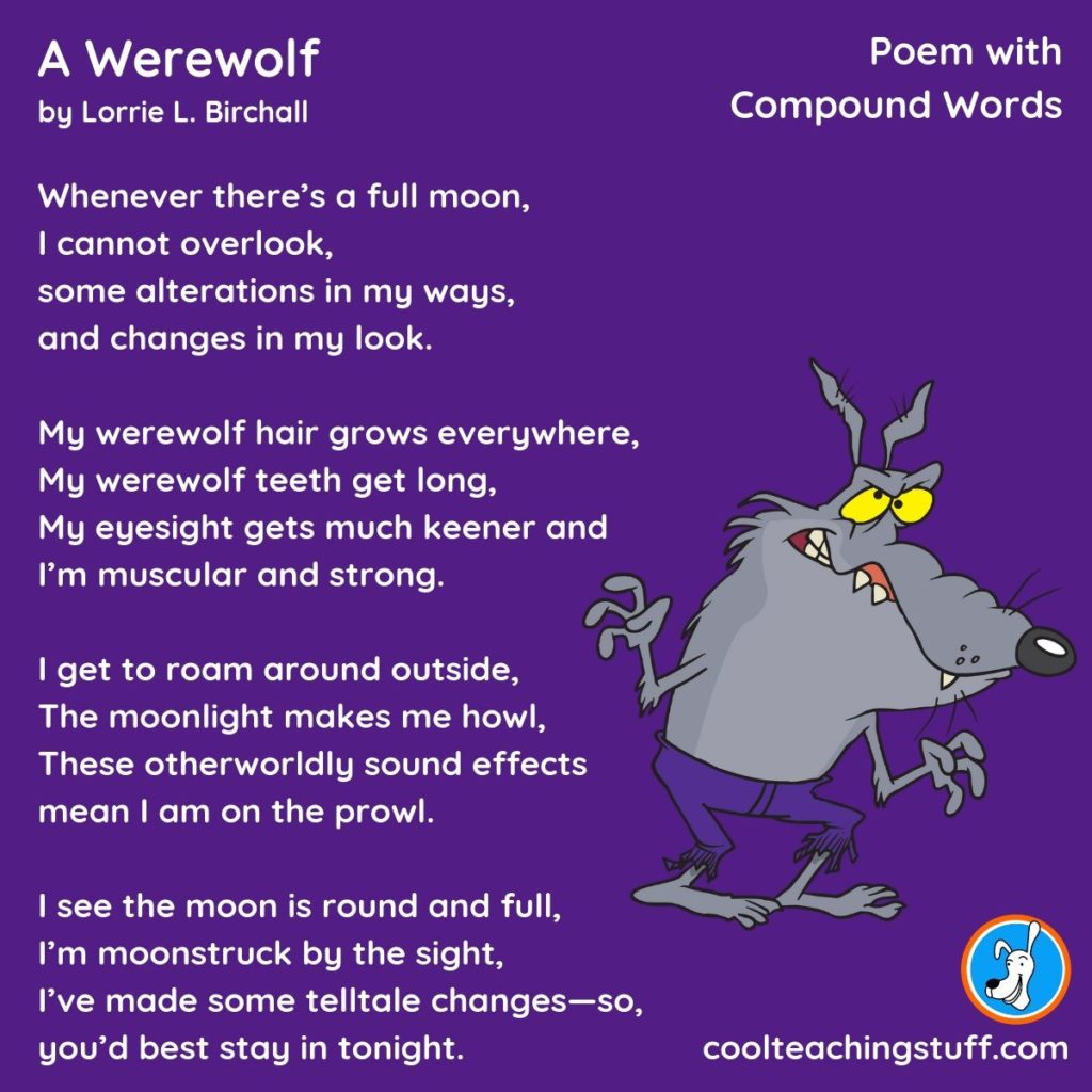 Poems For Teaching Compound Words Cool Teaching Stuff