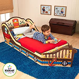 Comprehensive Review of the KidKraft Boat Toddler Bed 4
