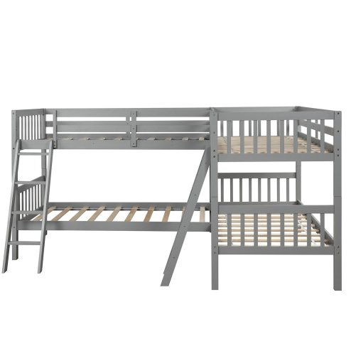 L-Shaped Bunk Bed Twin Size 5