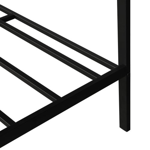 Metal Bed With Wood Decoration(Twin Size) 5