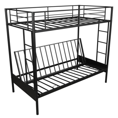 Twin over Full Metal Bunk Bed, Multi-Function 8