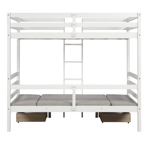 Functional Bunk bed , twin size 18