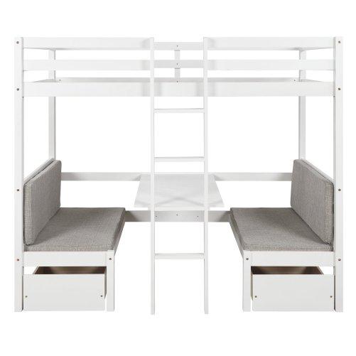Functional Bunk bed , twin size 11