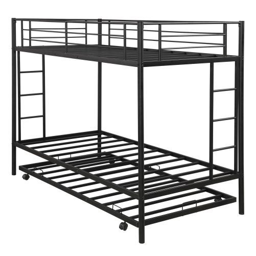 Twin over twin bunk beds with trundle 15