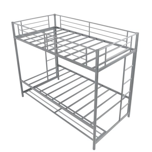 Twin over twin bunk bed with storage 12