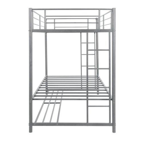Twin over twin bunk bed with storage 2