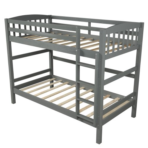 Twin over Twin Loft Bed, can be separated 4
