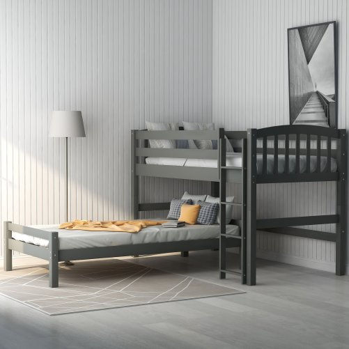 Twin over Twin Loft Bed, can be separated 1