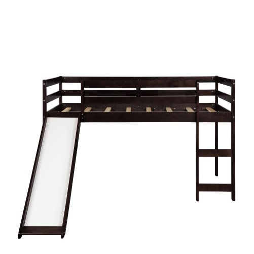 Kids Loft Bed with Slide, Multifunctional Design 8