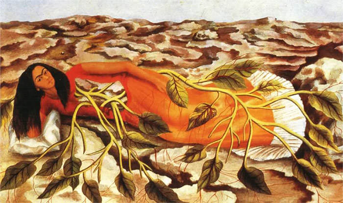 Roots-1943-Frida-Kahlo