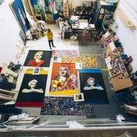 Madonna 1986 | Una instalación artística que ocupa un edificio de Pamplona