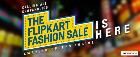 {*HOT*} The Flipkart Fashion Sale : Get Upto 80% Off On Fashion Products