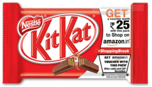 Amazon Kitkat Offer Page