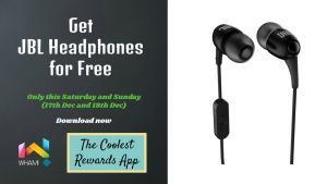 wham Free Mobile and Earphones
