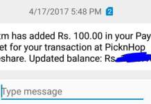 [Verified] PickNHop App - Rs.100 Free Paytm Cash By Referring Just 5 Friends