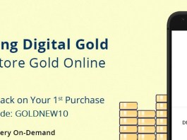 PayTm Loot -Trick to Get Free Rs.50 Paytm Cash By Digital Gold