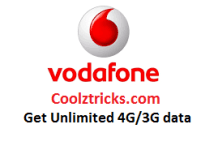 (Biggest Loot) Vodafone Internet Tricks To Get Unlimited 4G/3G Data(1000GB+)