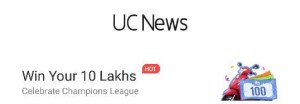 UC News New Contest - Win Rs.100 Paytm,Recharge,Amazon Vouchers