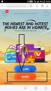VidmateFun Loot - Win Rs.5000 Paytm Cash,Laptops(Same Like Uc)
