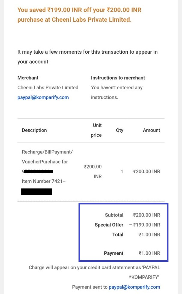 Holi Loot- PayPal is Sending ₹199 Coupon (Check In Your Account)