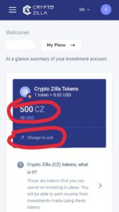 Crypto zilla refer and earn