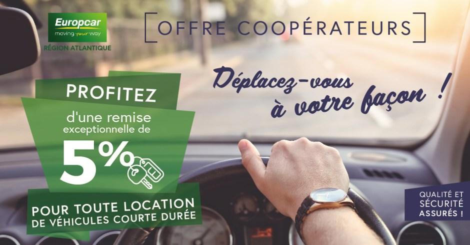 Offre Europcar Atlantique