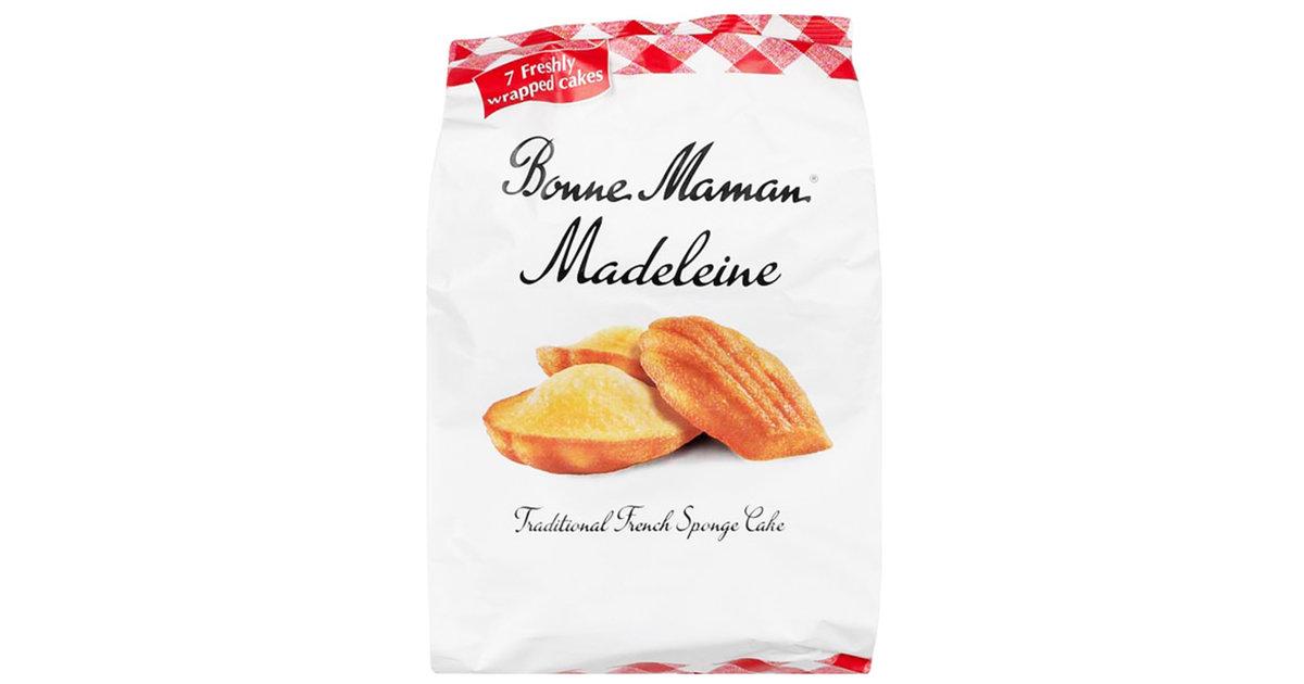 bonne maman madeleines au beurre 7 pieces
