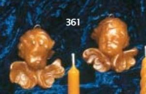 35 gr de cire, 5 x 5 cm.