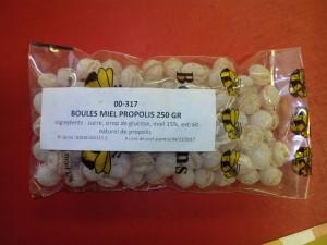 Bonbons miel propolis