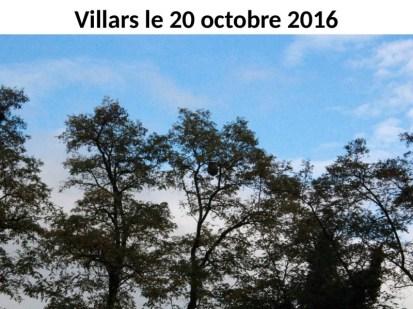 Villars le 20 octobre 2016 -0