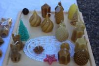 Les créations de l'atelier bougies réalisées par Daniel PETETIN