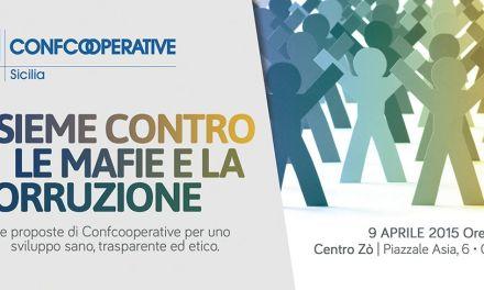 """Cooperazione e legalità: le proposte di Confcooperative al convegno """"Insieme contro le mafie e la corruzione"""""""