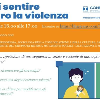 #fattisentirecontrolaviolenza: la campagna di Confcooperative contro la violenza sulle donne