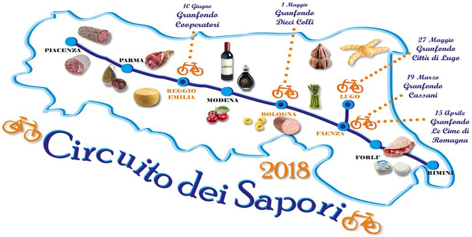 CIRCUITO DEI SAPORI Logo Emilia Romagna