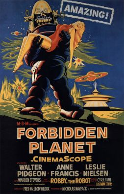 sci-fi movie forbidden planet