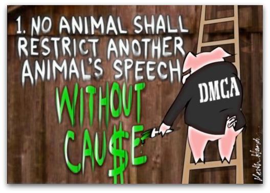 Orwellian DMCA