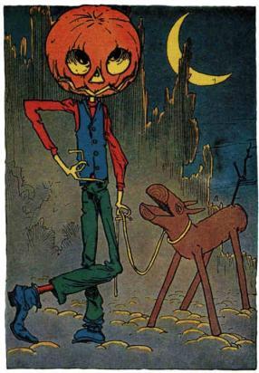 Jack Pumpkin head