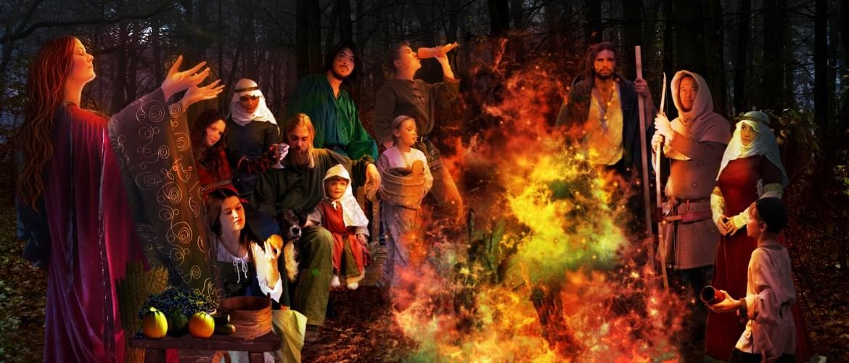 Bone Fires and Halloween